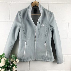 The North Face Gray Windwall Full Zip Jacket SZ M